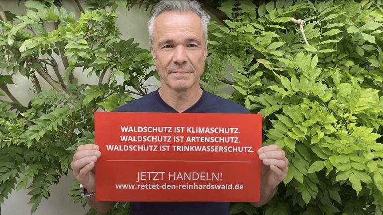 Hannes Jaenicke für den Reinhardswald
