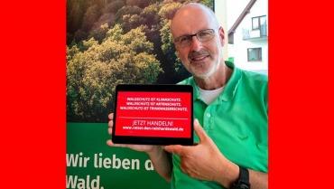 Unterstützung von Peter Wohlleben
